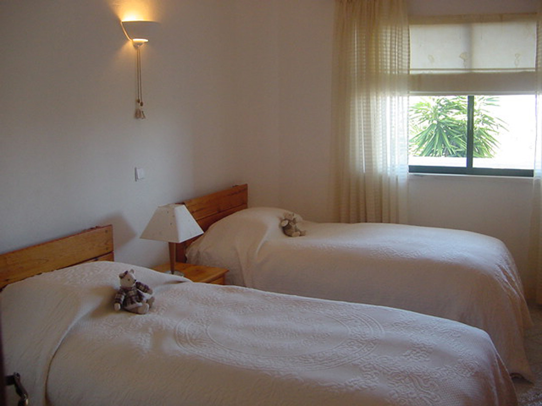 Twin Bedroom Holiday Apartment, Algarve, Portugal
